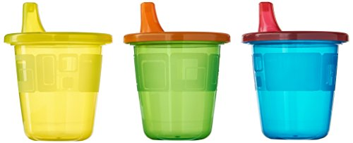 The First Years Take & Toss Spill-Proof 7 Ounce Cups 11 ea Assorted Colors