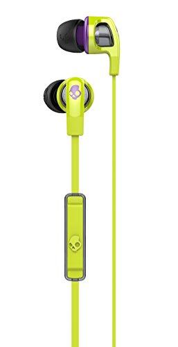 a98f19dfa Amazon.com  Skullcandy Smokin  Buds 2 Earbuds with Mic Hot Lime Purple