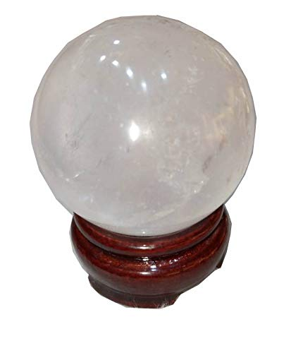 Crystal Cave Himalian Crystal Quartz Sphere/Ball 200 Gram to