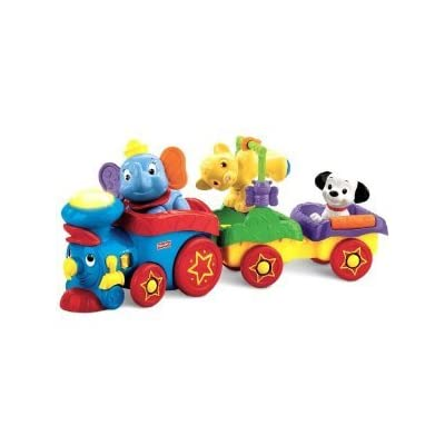 Fisher-Price Disney Baby Amazing Animals Sing-Along Choo-Choo with Mini Tool Box (cog): Toys & Games