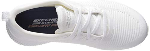 Tough Blanc Bobs blanc Skechers32504 Eu 40 Talk Squad Femme HxEnBdXBwW