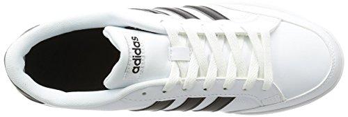 adidas Zapatillas de Gimnasia de Piel Para Hombre Blanco Bianco