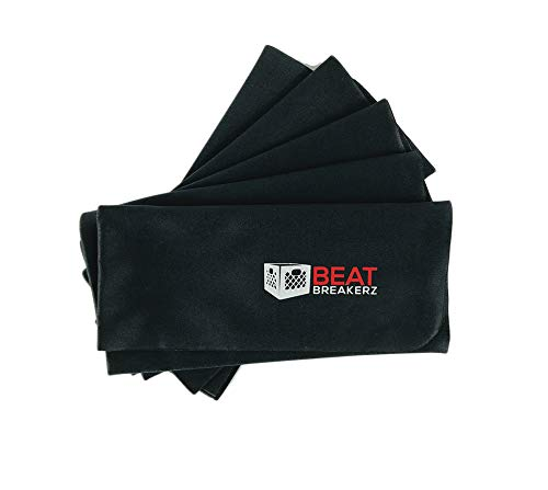 Beat Breakerz - Record Cleaning Cloth, 5 Pack, Black