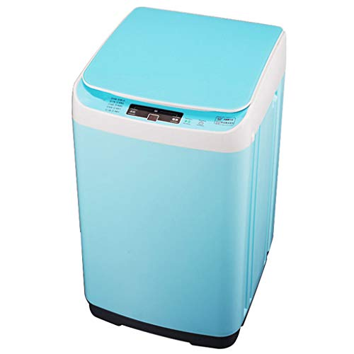 Portable Washing Machine – Automatic Washing Machine Household Sterilization Infant Child Small Mini Energy Saving (Blue,Pink)