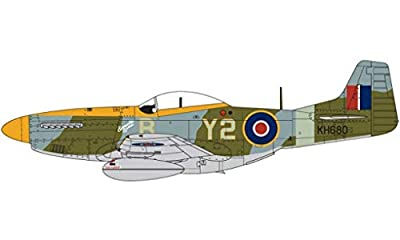Airfix North American Mustang Mk.IVA P-51K 1:24 Plastic Model Plane A14003A