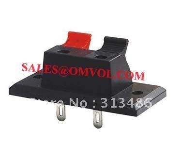 BIN BON - Two pole panel mounted wap push terminal