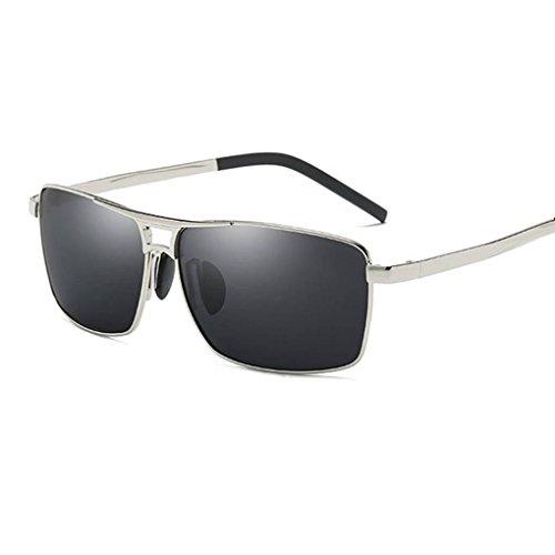 al la 3 conducción de aleación de gafas de de UV400 Eyewear libre protección de forma marco polarizadas Men sol Coolsir aire Gafas en Square q6ggRH