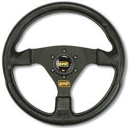 OD/1981/NN OMP Racing GP Sports Steering Wheel 330mm Black Polyurethane Design