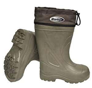 Marlin insulated deck boot size 12 fishing for Fishing waders amazon
