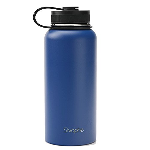 Wide Mouth/Flip Cap FIFTY//FIFTY V18004CR0 Coral Double Wall Vacuum Insulated Stainless Steel Water Bottle//Travel Coffee Mug,