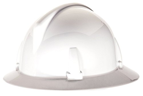 Topgard Protective Caps (MSA Safety 475393 Topgard Non-Slotted Protective Hat with Fas-Trac Suspension, Standard, White)