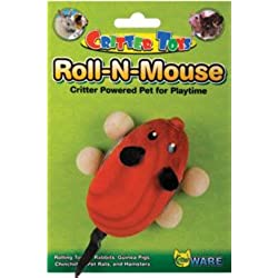 Ware Mfg.. Bird-sm An 089620 Roll-N-Mouse Small Animal Toy - Red