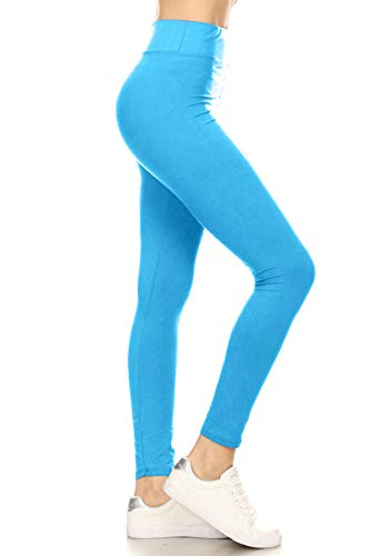 Leggings Depot Yoga Solid Leggings ()