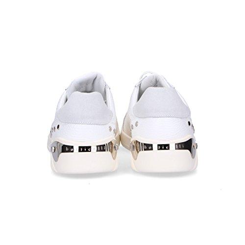 Roberto Botticelli Sneakers Uomo LU35705716 Pelle Bianco