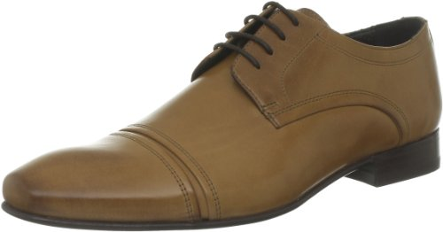 Salamander - Zapatos de cordones de piel para hombre Beige (Beige (04 Tan))