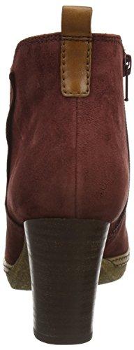 Gabor Shoes Comfort Sport, Botines para Mujer Rojo (Wine A.C/micro)