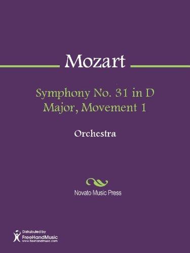 mozart symphony 31 score - 3