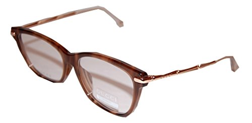 GUCCI GG 3772/F HQX RED HORN - Gucci Eyeglasses Red