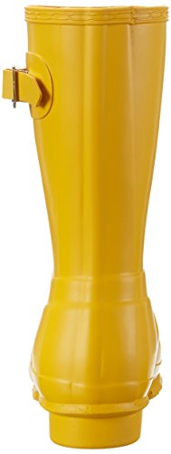 Hunter Original Short Wellington Boots - Botas de Caucho para mujer, color amarillo, talla amarillo (amarillo)