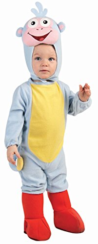 Nickelodeon Toddler Dora the Explorer Ez-On Romper Costume, Blue, 1-2 Years (Dora The Explorer Costumes)