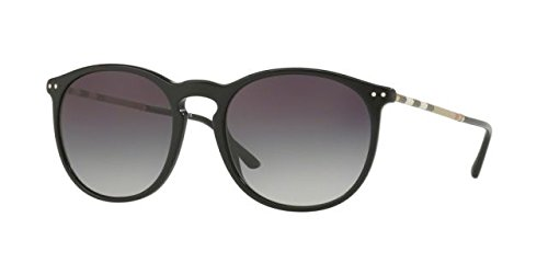 Burberry Unisex 0BE4250Q Black/Grey Gradient One - Sunglasses Unisex Burberry