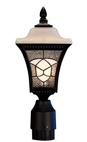 Abington One Light - Special Lite Products Abington F-4980-BLK Estate Post Mount Light, Black