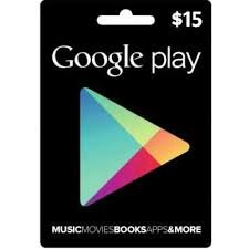 Amazon.com : Google Play Gift Card $15 : Office Products
