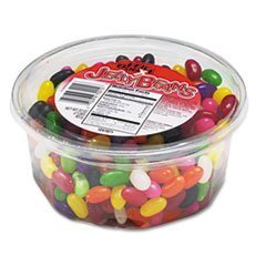** Jelly Beans, Assorted Flavors, 2lb Tub ** by 4COU - Jelly Beans 2 Lb Tub