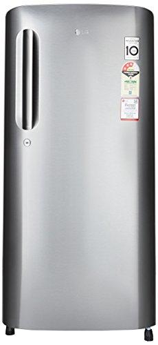 LG 190 L 3 Star Direct-Cool Single Door Refrigerator (GL-B201ADSW.ADSZEBN, Dazzle Steel)