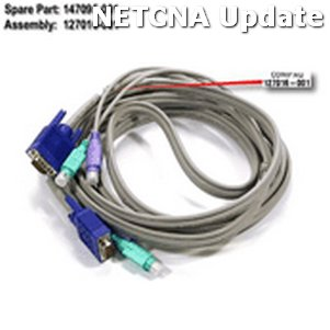 147095-001 HP Server Console Cable Compatible Product by NETCNA by NETCNA
