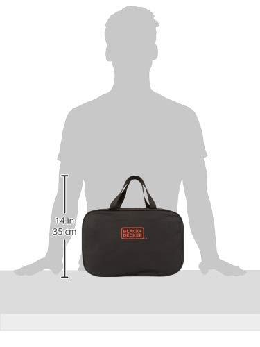 BLACK+DECKER 8V Drill & Home Tool Kit, 57 Piece (BDCD8PK)