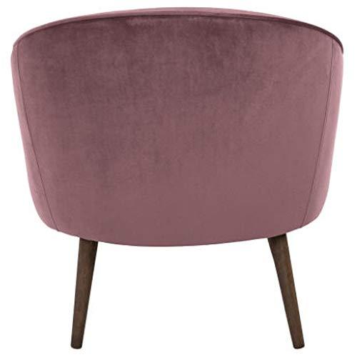 KosyForm - - Juego de 2 sillones de Terciopelo Rosa con ...