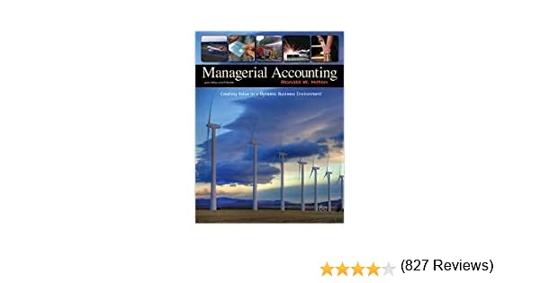 Managerial accounting 8th egith edition text only jk amazon managerial accounting 8th egith edition text only jk amazon books fandeluxe Image collections