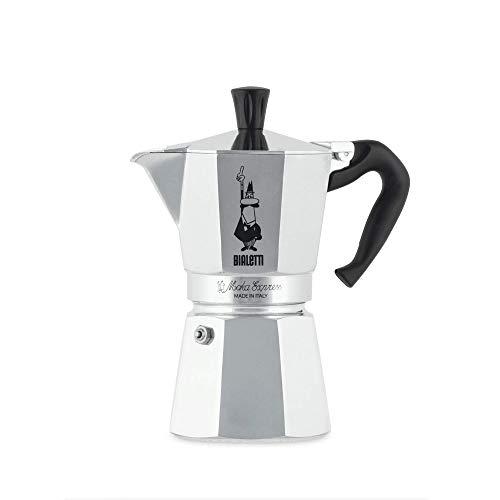 Espresso Machine Bialetti -  Bialetti 275-06 Moka Express 6-Cup Espresso Maker