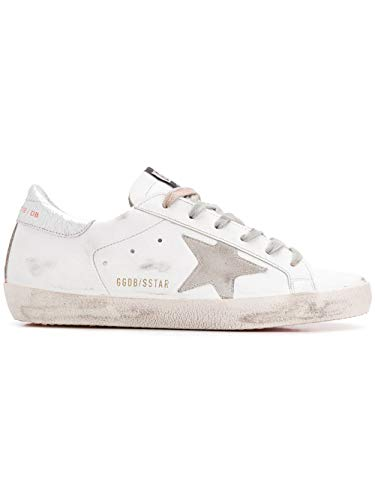 Sneakers Goose G34ws590m38 Bianco Pelle Donna Golden HYvq4