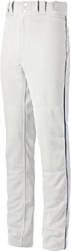 Pro Style Slide (Mizuno Youth Select Pro Piped G2 Pants, White/Navy, Small)