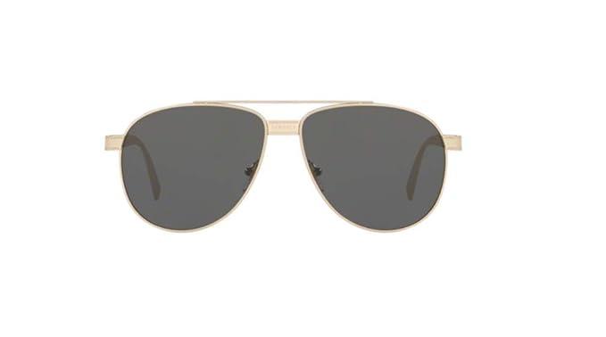 Versace 0VE2209 Gafas de sol, Pale Gold, 58 Unisex: Amazon ...