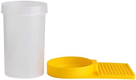 Hongzer Kunststoff Bee Feeder, Bienenwasser Feeder Beehive Drinking Bowl Imkerbedarf Imkerbedarf Werkzeuge