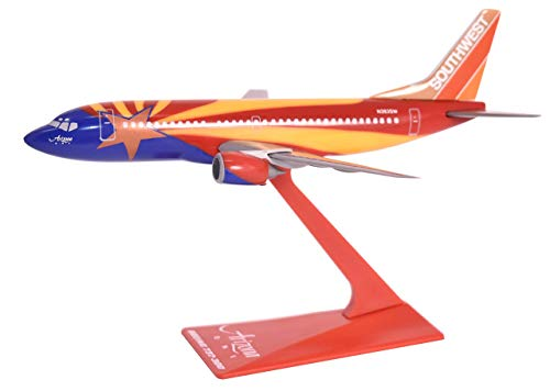 Southwest Arizona 737-300 Airplane Miniature Model Plastic Snap Fit 1:200 Part# ABO-73730H-402 by Flight Miniatures (Certified Refurbished)
