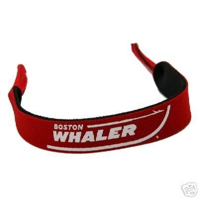 Boston Whaler Red Neoprene Eyeglass Sunglass - Boston Eyeglasses