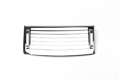 Putco 403506 Chrome Hood Deck Vent Cover for Hummer H3 / H3T