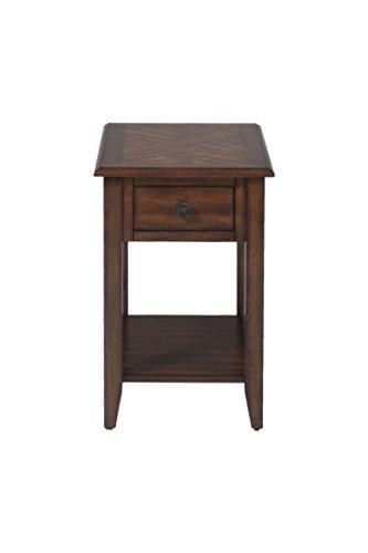 Jofran: 1031-7, Medium Oak, Chairside Table, 16