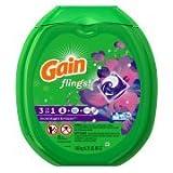 Gain flings! Laundry Detergent Pacs, Moonlight Breeze, 81 count