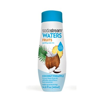 SodaStream Waters Sparkling Water Mix, Coconut Pineapple, 14.8 OZ -