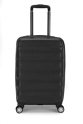 Antler Juno B1 4w Cabin Case, Black (Antler Liquis Luggage Best Price)