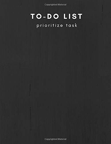 Pdf Bibles To-Do List Prioritize Task: Personal and Business Activities with Level of Importance, Things to Accomplish, Easy Glance, 8.5x11 inch, Cream Paper (Daily To-Do List) (Volume 2)