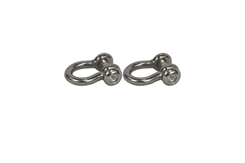 American Swing Set of 2 - Clevis Shackle With Special Head Shackle Stainless Steel