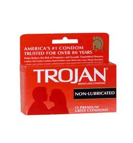 Trojan Non-Lubricated Condoms - Quantity - Pack of 108 by Trojan Condoms