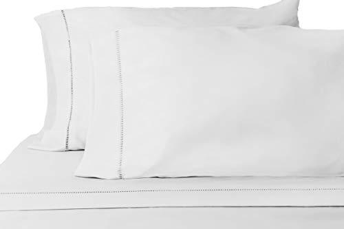 Grace Premium Microfiber Sheet Set - Super Soft, Deep Pocket, Embellished with Hypoallergenic, Wrinkle Resistant and Fade Resistant Brushed Microfiber – 4 Piece Set (Queen, Silver)