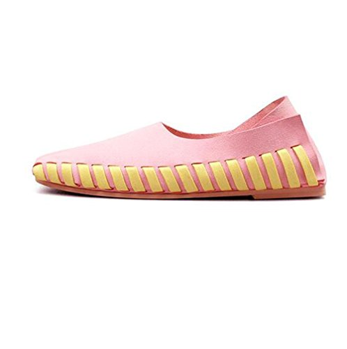 Lace MATTEPINK Plates Chaussures Femmes BOTXV Manuel Peas Couleur Chaussures Grande Up 39 Casual Automne Taille Chaussures Straps Croix dIvEaxqwE